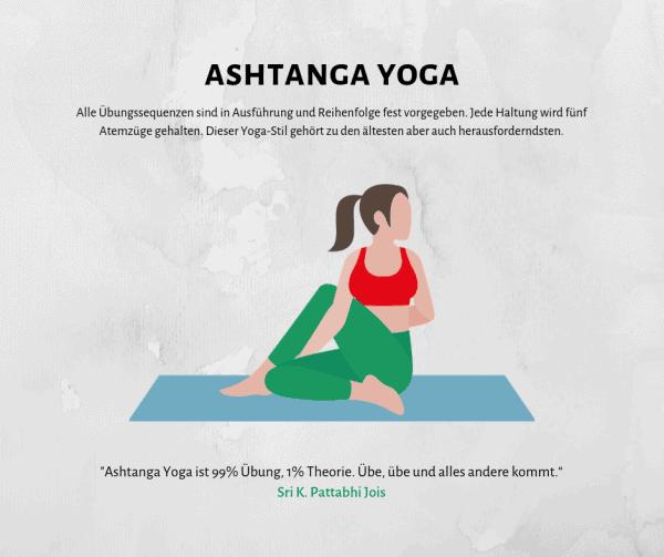 Ashtanga Yoga - Kondition und Kraft durch einen strukturierten Ablauf