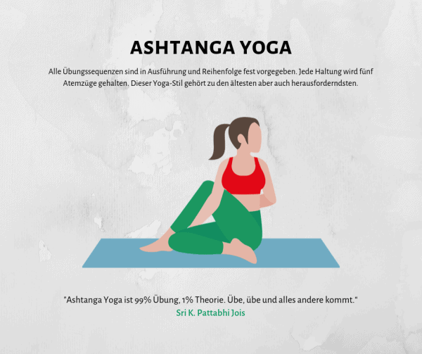 Alles über Ashtanga Yoga