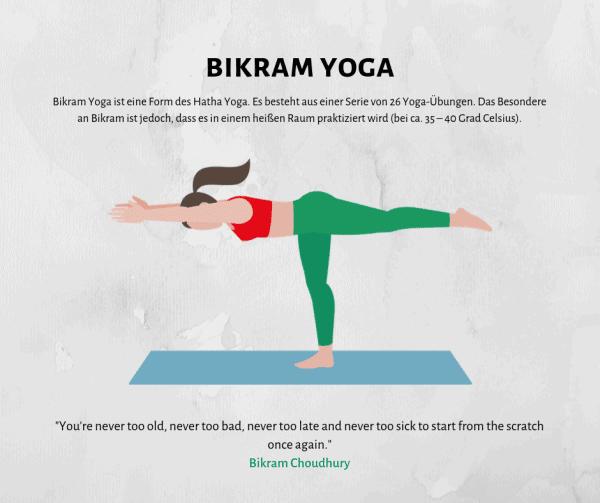 Alles über Bikram Yoga