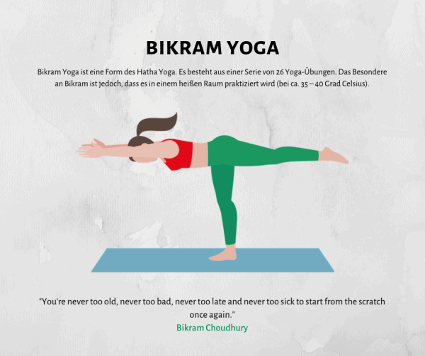 Bei 40° Celsius den Körper reinigen mit Bikram Yoga