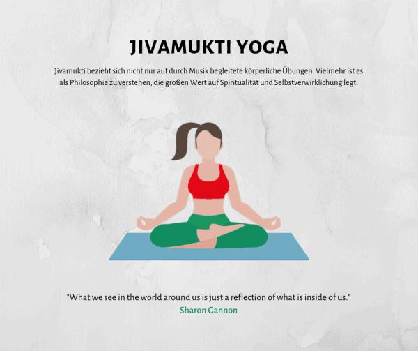 Alles über Jivamukti Yoga