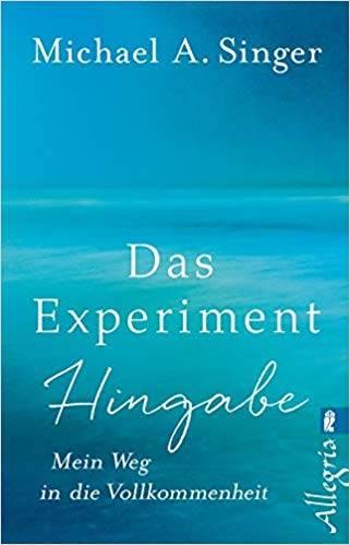 Die besten Bücher zur Persönlichkeitsentwicklung: Michael A. Singer - Das Experiment Hingabe - Mein Weg in die Vollkommenheit Buchempfehlung