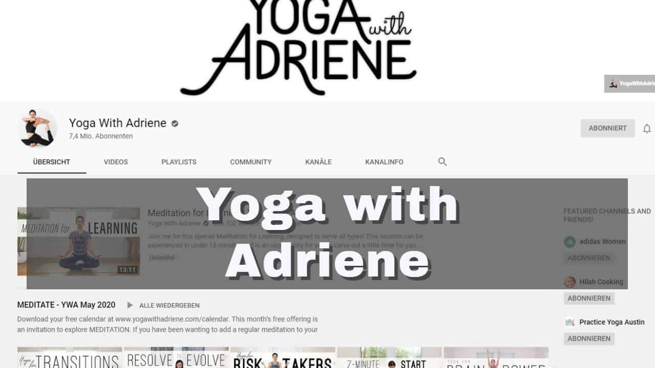 30-Tage-Challenge: Yoga with Adriene