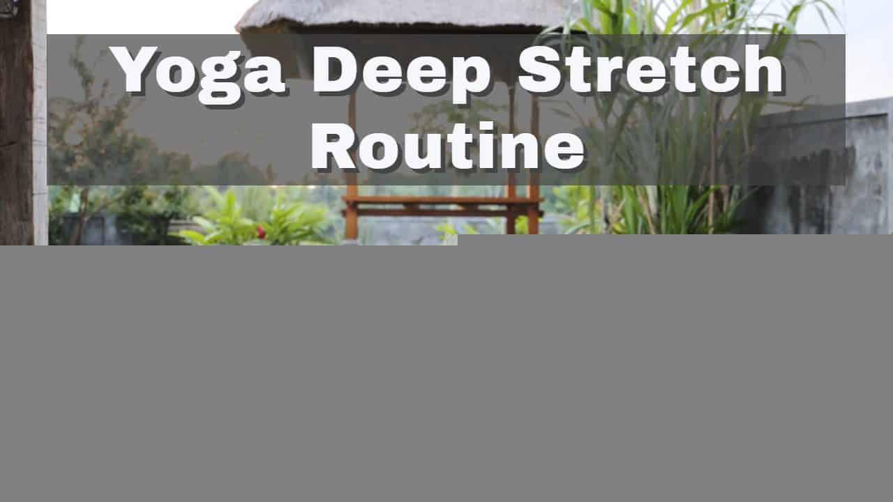Yoga-Video zum Stretchen und Relaxen