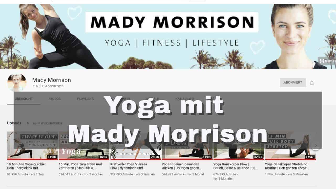 30-Tage-Yoga-Challenge mit Mady Morrison
