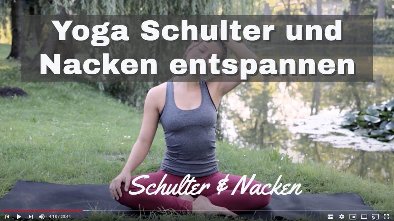 Yoga-Video: Schulter und Nacken entspannen