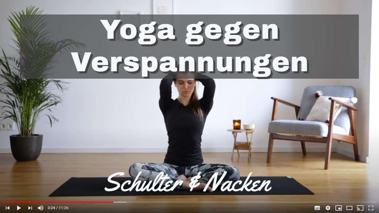 Yoga gegen Verspannungen im Schulter-Nacken-Bereich