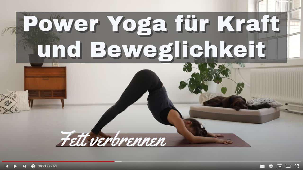 Die Besten Kostenlosen Yoga Videos Um Fett Zu Verbrennen
