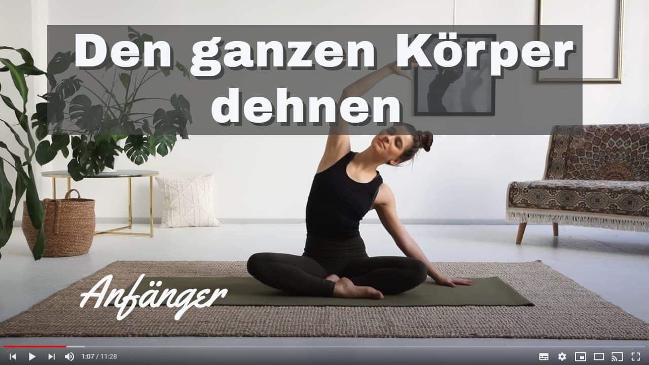 Yoga-Video für Anfänger: Yoga-Morgenroutine für Stretchen und Dehnen