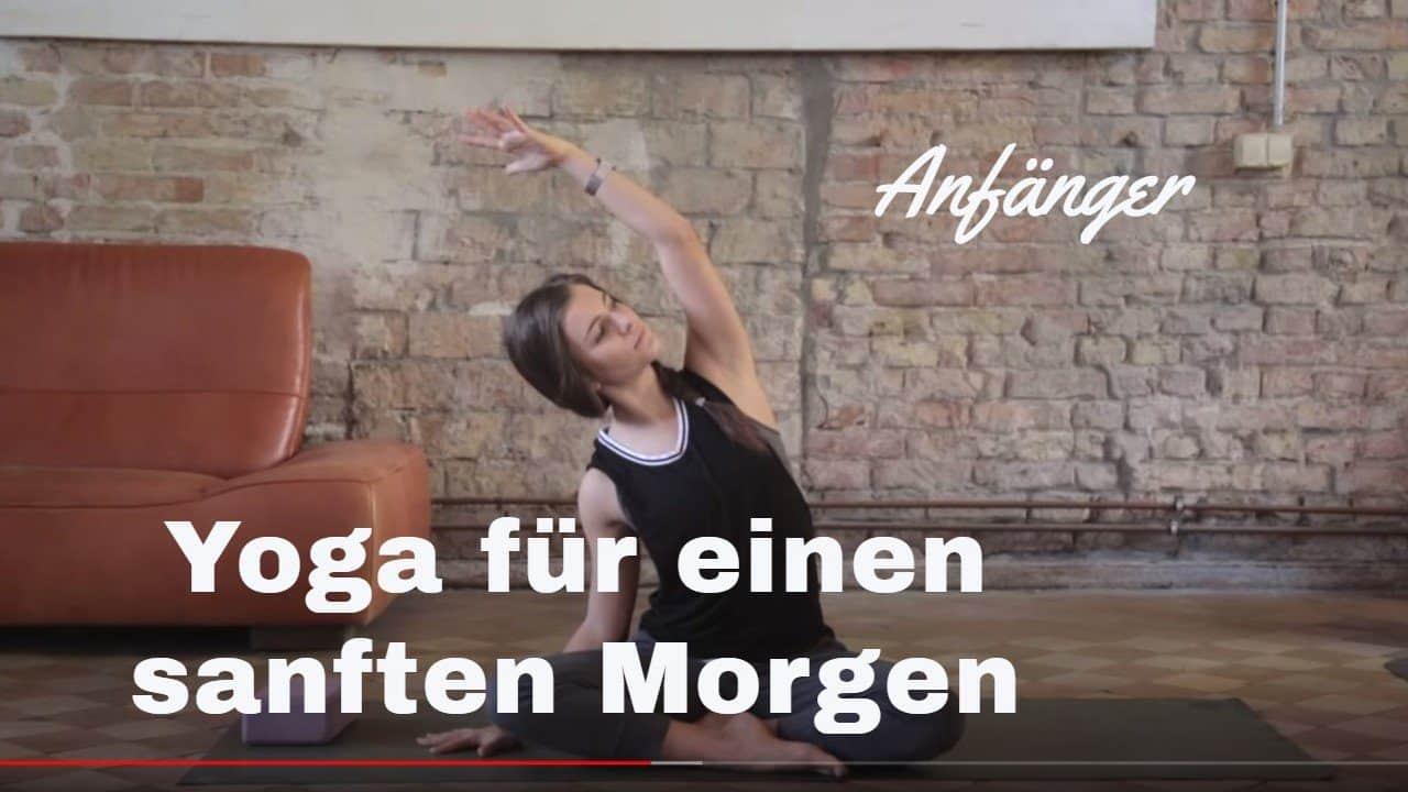 Yoga-Video für einen sanften Morgen