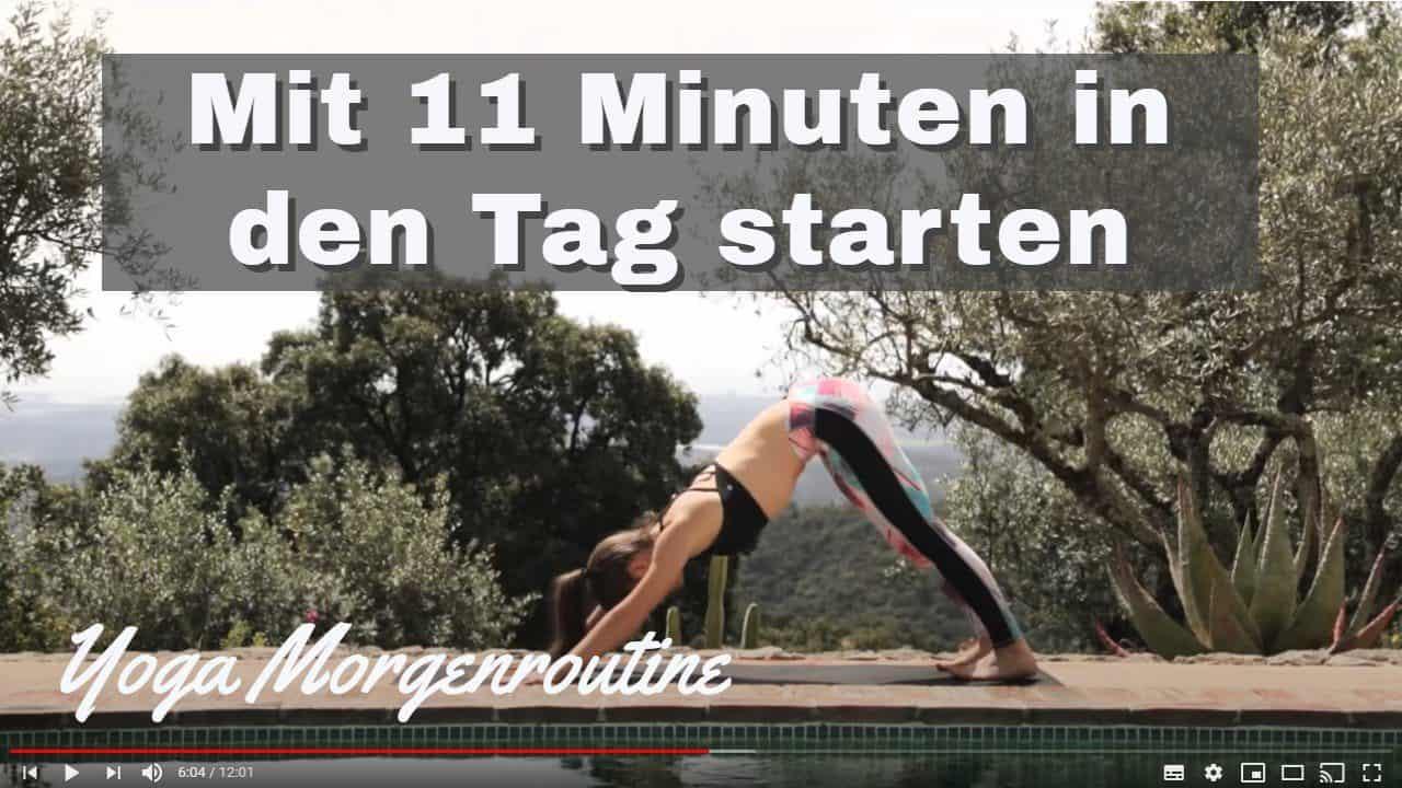 Yoga-Übungen zum Wachwerden