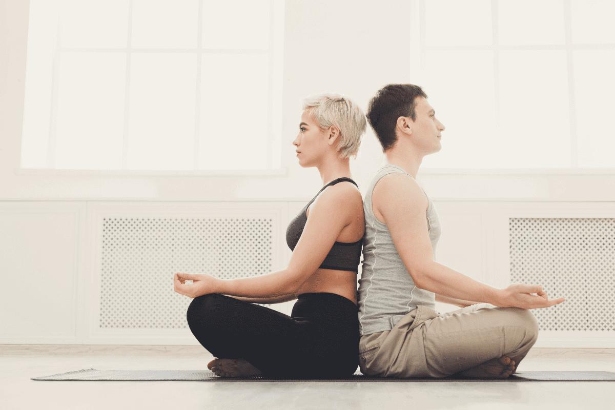 Meditation zu zweit