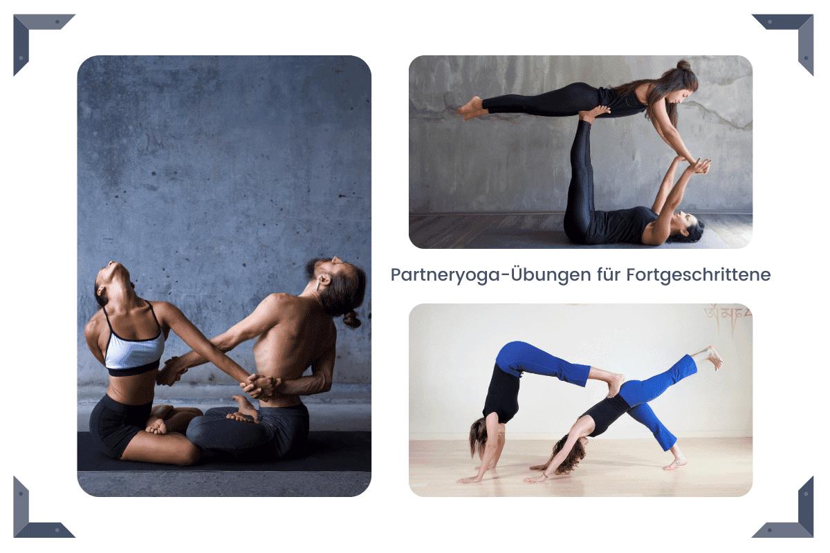 Partneryoga-Übungen für Fortgeschrittene