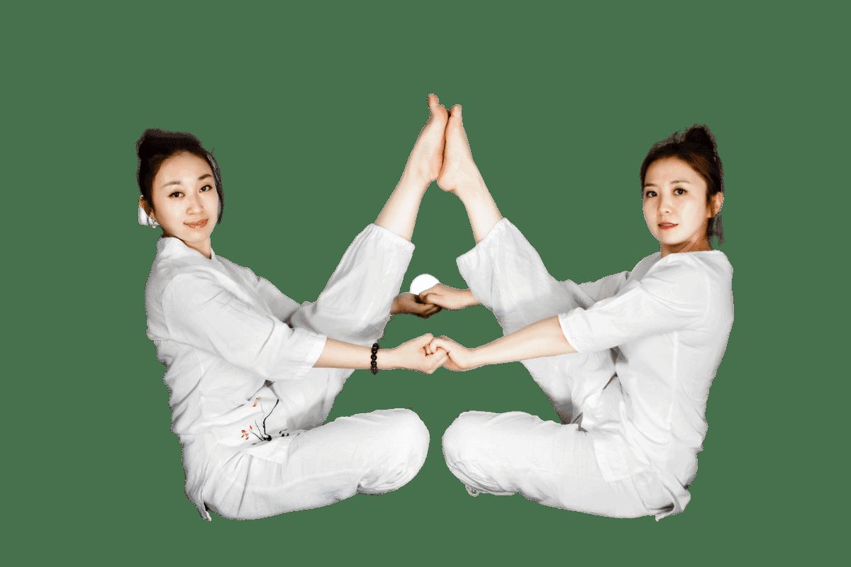 Partneryoga oder Yoga zu zweit